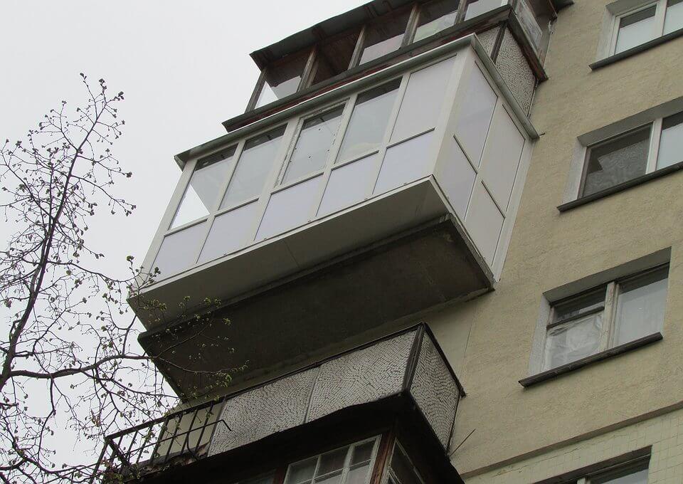 Что такое Французский балкон