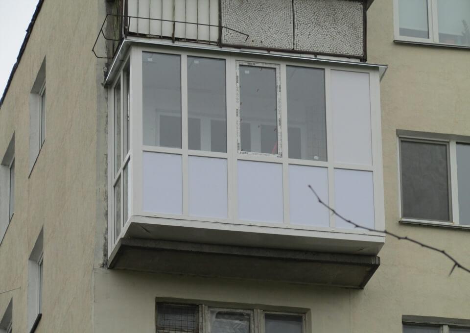 Французский балкон + фото.