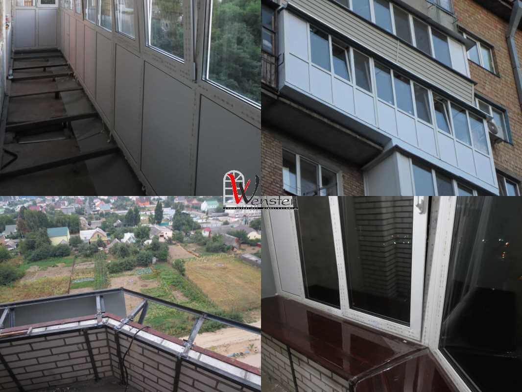 Балкон под ключ в киеве.