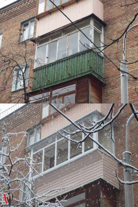 Чем отделать балкон снаружи своими руками 286